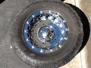 """Dodge RAM 1500 Ultra 18"""" Chrome Rims Nitto Terra Grappler 325 60R18 Tires"""