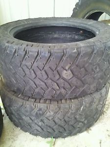 2 285 55 22 Nitto Trail Grappler Tires 285 55R22 285 55 22 Toyo M T