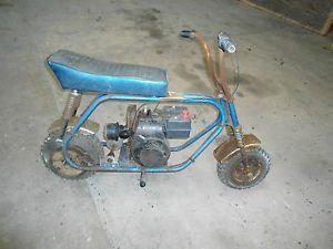 "Vintage Mini Bike Minibike Frame "" Cat"" 400TS Mini Bike Parts"