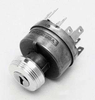 So Cal Keyed Ignition Switch Art Deco Vtg Style Knob Rat Hot Rod Rat Custom