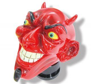 Red Devil Shift Knob Rat Hot Rod Custom Jockey Suicide Shifter Chopper Gasser