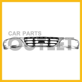 99 00 01 02 03 04 Ford F150 Grille Chrome Silver Bar XL