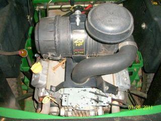 2007 john deere 757 commercial zero turn mower mod 60