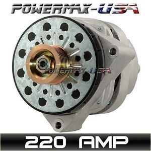 High Output Alternator Chevy GMC C K R V Series Pickup 5 7L V8 1996 2000 220Amp