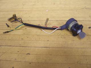 Vintage RARE Alsport Steen 60 Ignition Key Switch Mini Bike Minibike