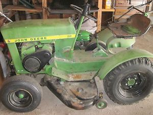 Vintage 1966 John Deere Lawn Tractor Mower