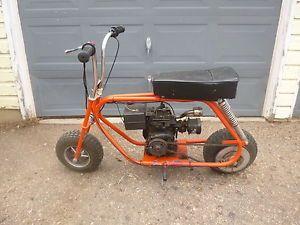 Vintage Cat Mini Bike 400x Runs Great Video Taco Bonanza Rupp Old Minibike 70
