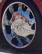 32 inch Rims Wheels Tires Pack Starr Alloy Wheel 569 Bear Chrome 32x10 15 30
