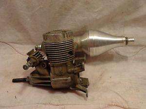 K B 45 Sportster Model RC Airplane Engine Dubro Arise Muffler Plane Glow Motor