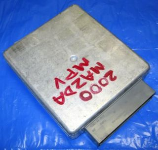 2000 2002 Mazda MPV Engine Computer Module ECU ECM PCM