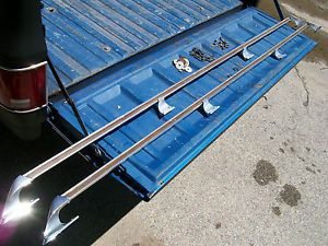 73 87 73 80 81 87 67 72 Chevy GMC Truck Factory Bed Rails Box Rails