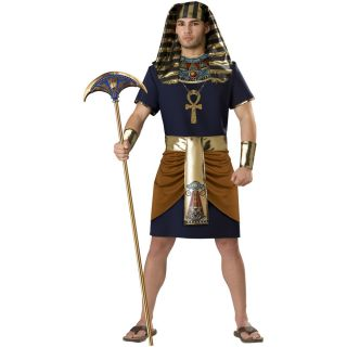 Egyptian Man Adult Costume Egyptian Man Pharoah Egypt King Tut