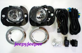 Chrome Spot Light Fog Lamp Nissan Micra March K13 10 11 12 2010 2011 2012