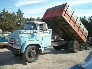 56 GMC Chevy Cabover Stubnose Cab Forwaed Truck 1 1 2 2 Ton Bed and Hoist