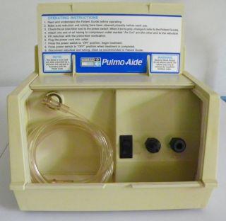 DeVilbiss Pulmo Aide Nebulizer 5610D Respiratory Breathing Problems