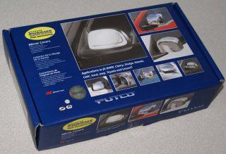 New Putco Chrome Side Mirror Covers Fits 2007 2009 Dodge RAM 2500 3500
