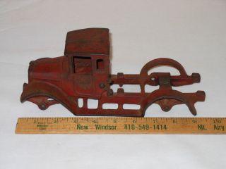 Arcade International Harvester Cast Iron Toy Dump Truck for Parts Restoration