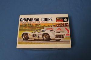 RARE Monogram Chaparral 2D Coupe Model Car Kit PC142 Slot Car Racer
