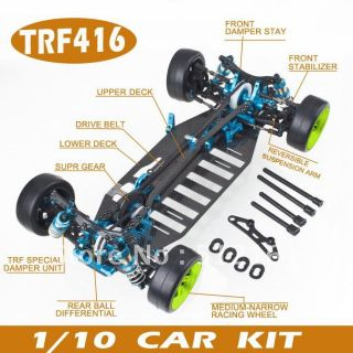 Racing Car 1 10 Scale Kit Car for High Performance WD Car Kit for Tamiya TRF416