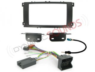Ford Focus Double DIN Stereo Fitting Kit Black CTKFD24