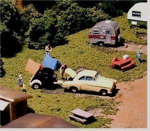 N Scale Pull Behind Teardrop camper Car Kit