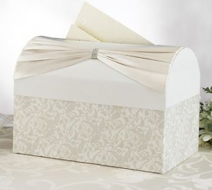 Ivory Card Box Wedding Card Box Guest Card Box Card Holder Wedding Supplies