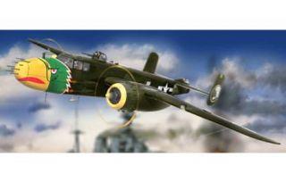 "HK Models 1 32 B 25J Mitchell ""Strafer"" Airplane HK 01E02"