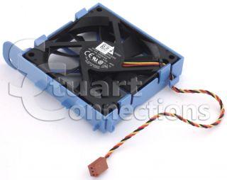 Dell Inspiron 537s 546s Desktop Case Fan Assembly with Mounting Bracket C953N