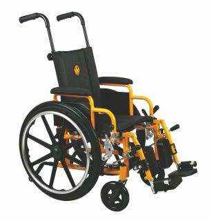 "Medline Excel Kidz Kids Pediatric Wheelchair 14"" Childrens Wheel Chair"