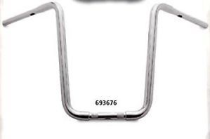 "Santee 11 4"" Ape Hangers Chrome Handle Bars Harley 19"""