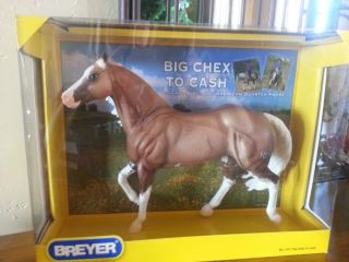 Breyer 1357 Big Chex to Cash National Reining Horse Champion Palomino