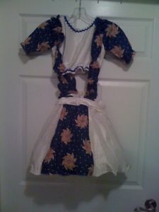 Girls Red White Blue RWB Patriot Pageant Casual Wear OOC Outfit of Choice 9 10