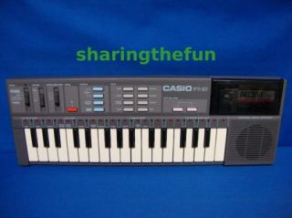 Casio PT 87 Electronic Keyboard ROM RAM Pack Auto Play Melody Tuning Slot K6
