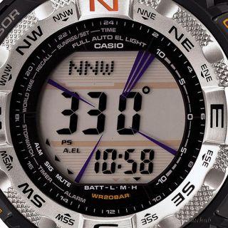 New Casio PROTREK Pathfinder Triple Sensor Tough Solar 660ft Watch PRG 260 1
