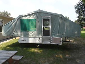 1967 Trade Winds Caprice Pop Up Popup Folding camper Tent Camping Trailer RV