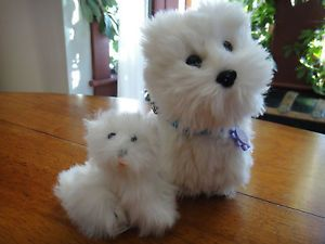American Girl Dog Coconut and Battat Puppy