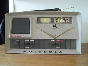 Vintage Estate Motorola Desktop Remote Control Ham CB Radio Tube Home Base