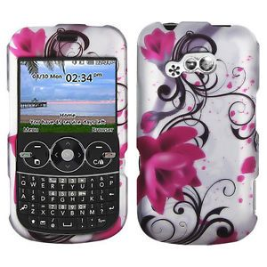 Pink Lotus Flowers Hard Case Cover Tracfone Strighttalk LG 900G Net 10 Accessory