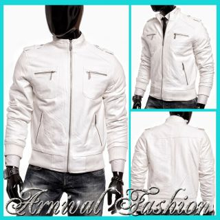Men's Leather Bomber Jackets on PopScreen
