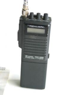Realistic TRC 226 40 Channel Portable CB Radio Transceiver