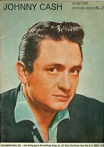 Johnny Cash Songbook Sheet Music Song and Picture Folio No 2