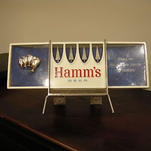 Vintage 1950s Hamms Beer Cash Register Topper