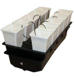 New Versagrow System Aeroponic Kit Hydroponics Grow Box 10 Plant Spray Set Up