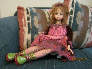 Jan McLean's Beautiful Sophisticated Isabelle Doll 40 500 Bankruptcy Sale