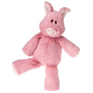 "Pink Pig Marshmallow Zoo Soft Toy Stuffed Animal 13"" Plush Baby Gift Mary Meyer"