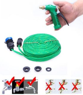 New 15M Car Garden High Pressure Water Gun Pipe Spray Hose for Cleaning Wash