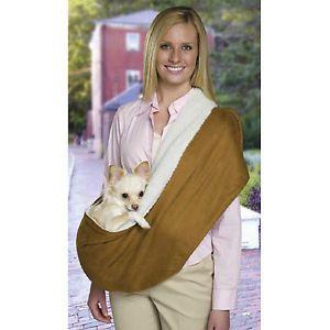 XX Small Yorkie Poodle Dog Cat Pet Shoulder Sling Carrier Tote Bag Clothes XXS