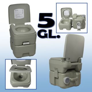 5 Gallon Outdoor Portable Camping Toilet Boat Potty GL