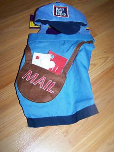 Size XS x Small 5 10 lbs Old Navy Mailman Mail Man Carrier Pet Dog Costume New