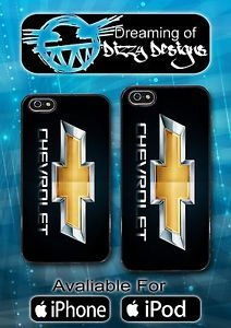 Chevrolet Chevy Logo Custom Cell Phone Case for iPhone and iPod